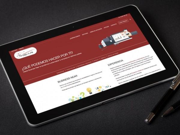 Diseño Web Corporativa Businessnear